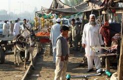 Gente en Paquistán Foto de archivo