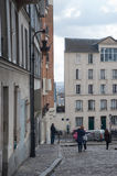 Gente en París Imagen de archivo