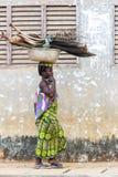 Gente en PORTO-NOVO, BENIN Fotos de archivo libres de regalías