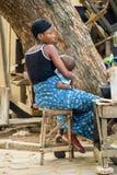 Gente en PORTO-NOVO, BENIN Imagenes de archivo