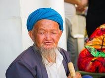 Gente en SAMARKAND, UZBEKISTÁN Imagenes de archivo