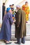 Gente en SAMARKAND, UZBEKISTÁN Fotos de archivo libres de regalías