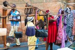 Gente en SURÁFRICA Foto de archivo libre de regalías