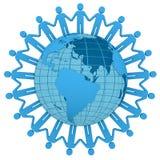 Gente en todo el mundo ilustración del vector