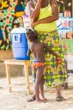 Gente en Togo, África Fotos de archivo