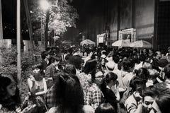 Gente en un concierto Fotos de archivo libres de regalías