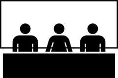 Gente en una conferencia ilustración del vector