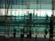Gente en una prisa Foto de archivo libre de regalías