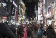 Gente en urbano en Seul, Corea del Sur Fotos de archivo libres de regalías