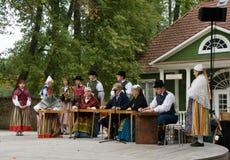 Gente estonia foto de archivo