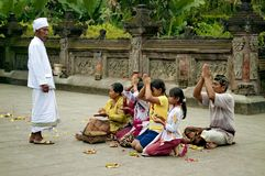 Gente fedele di preghiera Fotografia Stock Libera da Diritti