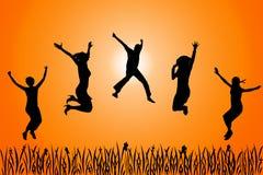 Gente felice Immagini Stock Libere da Diritti