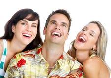 Gente felice Immagini Stock