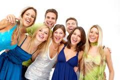 Gente feliz foto de archivo