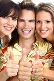 Gente feliz Fotografía de archivo libre de regalías