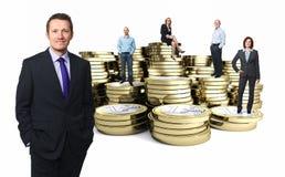 Gente finanziaria Fotografie Stock Libere da Diritti