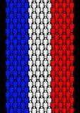 Gente francese illustrazione di stock