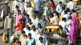 Gente indiana Fotografie Stock Libere da Diritti