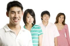 Gente joven Imagen de archivo