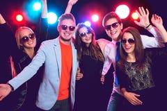 Gente joven en el partido Fotos de archivo libres de regalías