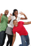 Gente joven feliz Fotos de archivo libres de regalías