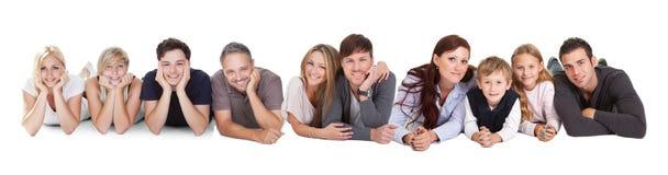 Gente joven feliz imágenes de archivo libres de regalías