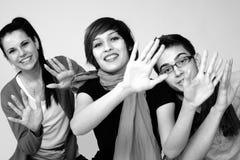 Gente joven que se divierte Fotografía de archivo libre de regalías