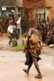 Gente locale dalla valle di Omo, Etiopia Immagine Stock