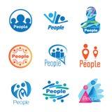 Gente Logo Set libre illustration