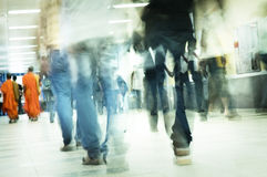 Gente móvil Fotografía de archivo libre de regalías