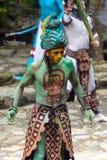 Gente maya en México Imagenes de archivo