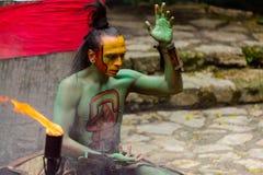 Gente maya en México Imágenes de archivo libres de regalías