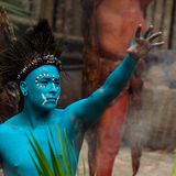 Gente maya nel Messico Fotografia Stock Libera da Diritti