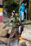 Gente maya nel Messico Fotografia Stock