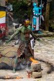 Gente maya nel Messico Immagini Stock