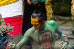 Gente maya nel Messico Immagine Stock Libera da Diritti
