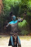 Gente maya nel Messico Immagine Stock