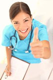 Gente medica - infermiera Fotografia Stock Libera da Diritti