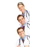 Gente medica sorridente Immagine Stock Libera da Diritti