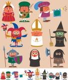 Gente medieval 2 Imágenes de archivo libres de regalías