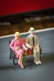 Gente miniatura fotografie stock libere da diritti