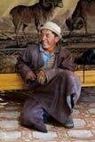 Gente mongola Immagini Stock Libere da Diritti