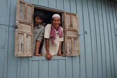 Gente musulmana del Cham etnica Fotografia Stock Libera da Diritti