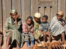 Gente nativa de Zafimaniry fotografía de archivo libre de regalías