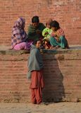 Gente nepalesa Imágenes de archivo libres de regalías