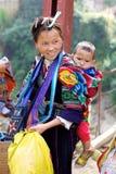 Gente nera di minoranza etnica di H'mong immagini stock libere da diritti