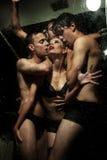 Gente nuda bella Immagini Stock Libere da Diritti