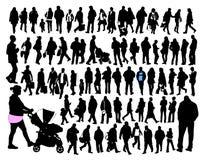 Gente ordinaria Immagine Stock