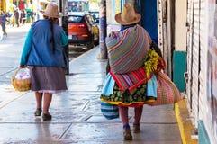 Gente peruviana immagini stock libere da diritti