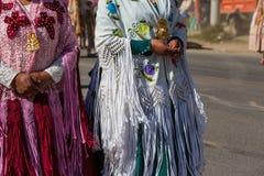 Gente peruviana fotografia stock
